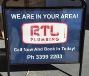 Home Plumbing Repairs,  Installations,  Gas Fitting - RTL Plumbing