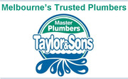 Plumber Melbourne - Taylor and Sons