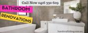 Bathroom renovations Brisbane | commercial renovation services