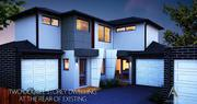 Dual Occupancy - Town planning Architectural House Plans and Design id