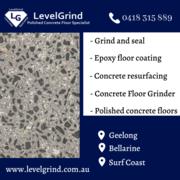 Concrete Floor Grinder in Geelong & Surf Coast