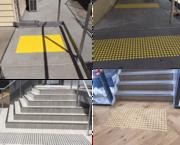Safetac Tactile - Tatctile mat installation in Sydney
